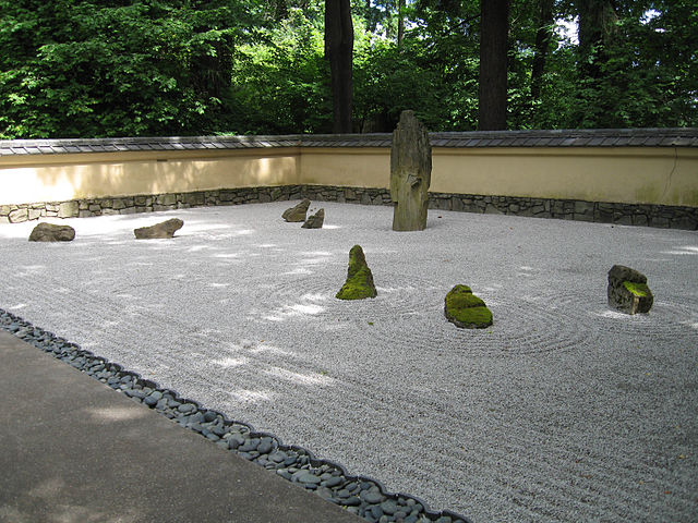 With Five Distinct Landscaped Areas, The Portland Japanese Gardenu0027s Sand  And Stone Garden Exhibits Many Of The Traits Of A Traditional Zen Garden.